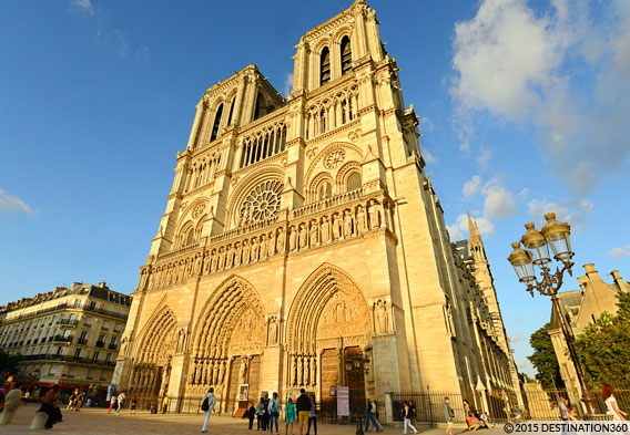 Explore the Notre Dame Cathedral