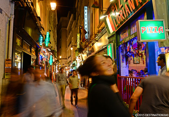 Latin Quarter Nightlife