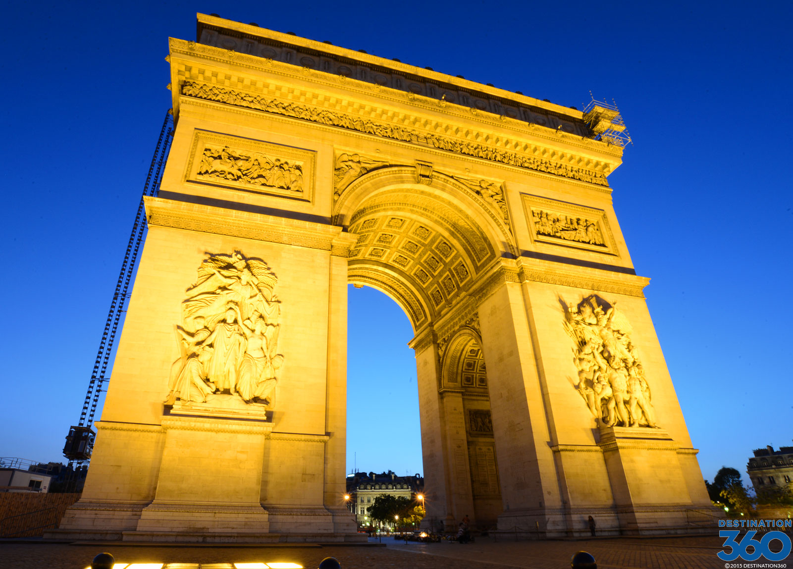 arc de triomphe monuments of paris. Black Bedroom Furniture Sets. Home Design Ideas