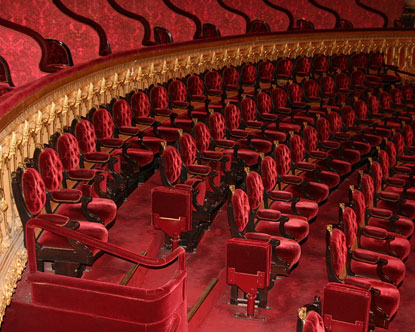 Theaters in Paris