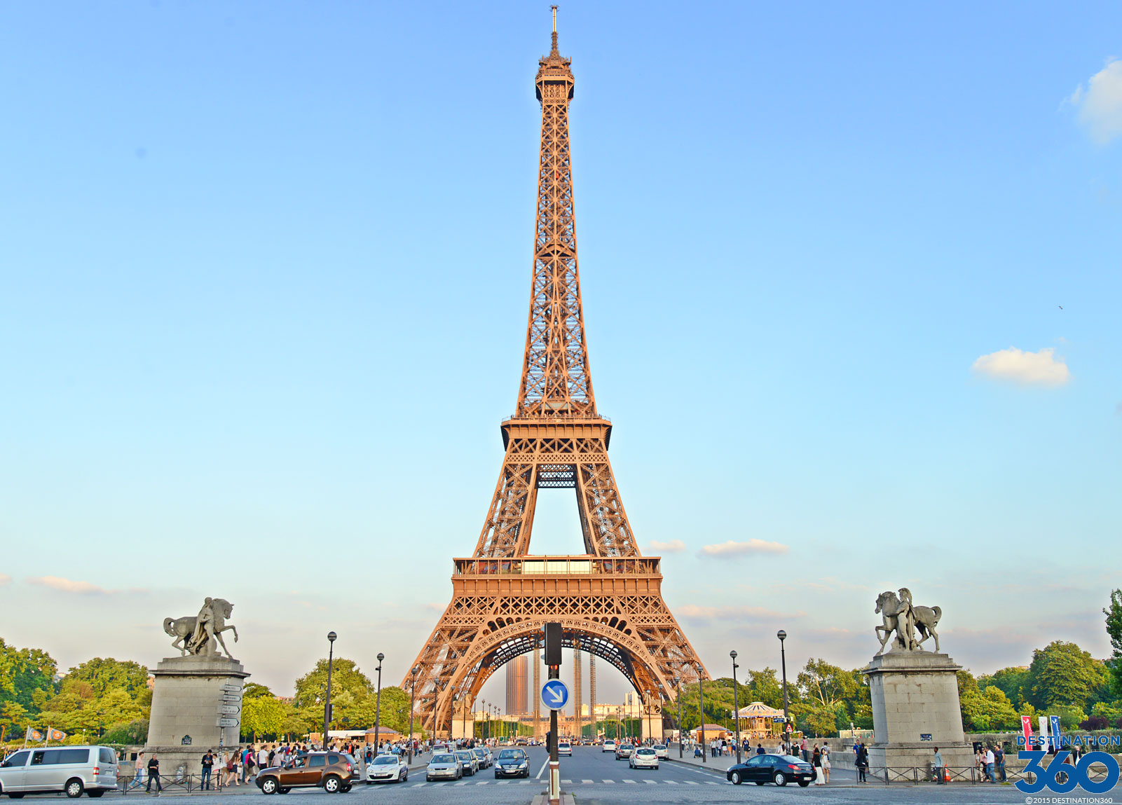 Tours of the Eiffel Tower Virtual Tour
