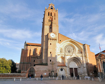 Cathédrale St-Étienne Toulouse - Cathedral in Toulouse