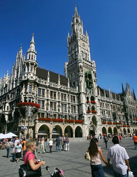 Marienplatz Munich Square