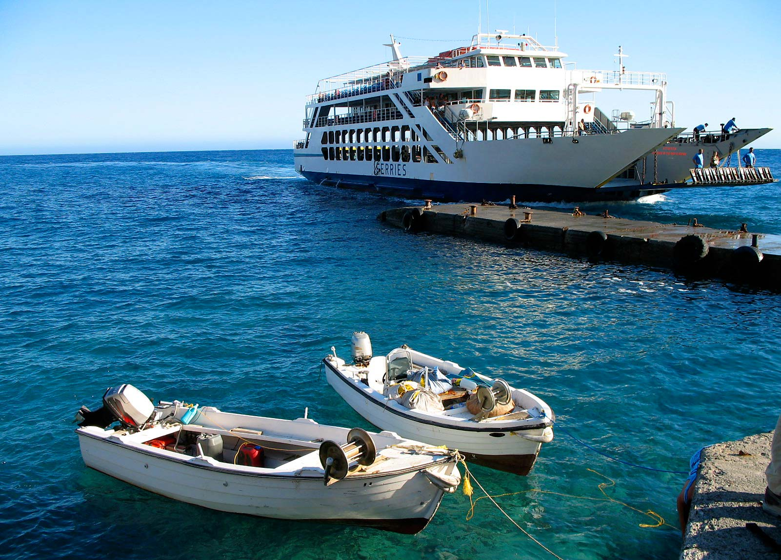 Greece Ferries