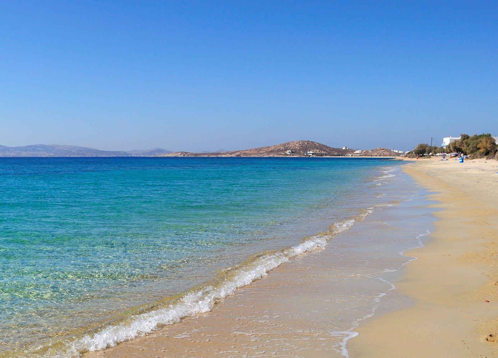 Plaka Beach Plaka Beach Naxos Hotels Near Plaka Beach
