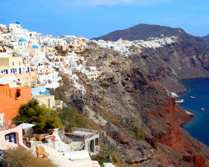 show topic santorini athens travel time ferry cyclades south aegean