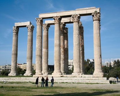 希腊 ~第二章 Syntagma Square, Greek Parliament, Temple of Olympian Zeus, Hadian's Arch, Arcopolis, the Parthenon, Theathre of Dionysos