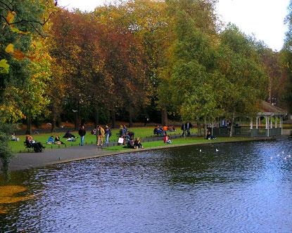 St Stephen's Green - Dublin City Park - Stephen's Green