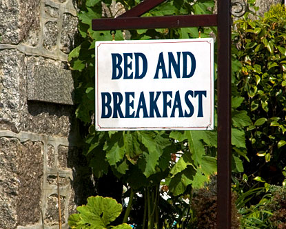 Bed and Breakfast in Ireland