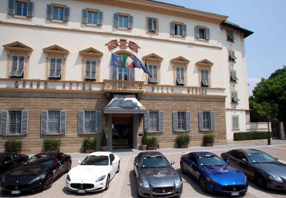 Florence Italy Hotels - Grand Hotel Villa Medici