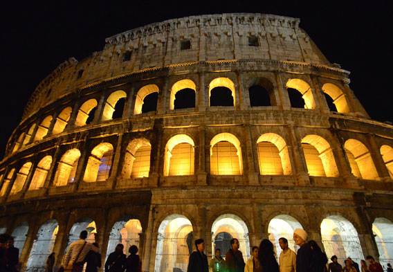 Colosseum at Night Walks