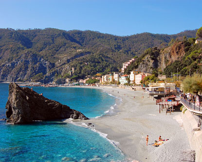 Italian Riviera beaches
