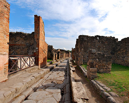 Pompeii History Virtual Tour
