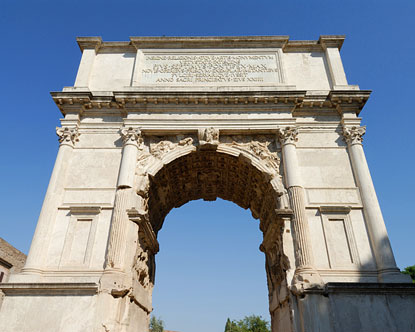 Arch Of Titus Arch Of Titus History Menorah On The