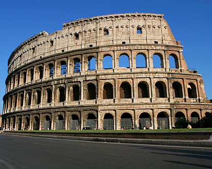 the Colosseum hosted