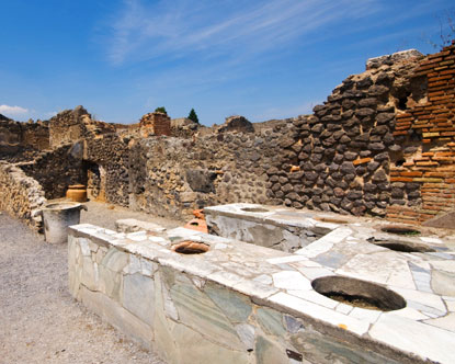 Pompeii Restaurants Virtual Tour