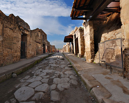 Ruins of Pompeii Virtual Tour