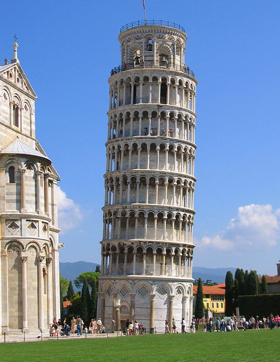 Tickets to the Leaning Tower of Pisa