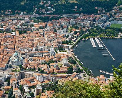 Como Italy City Of Como Italy