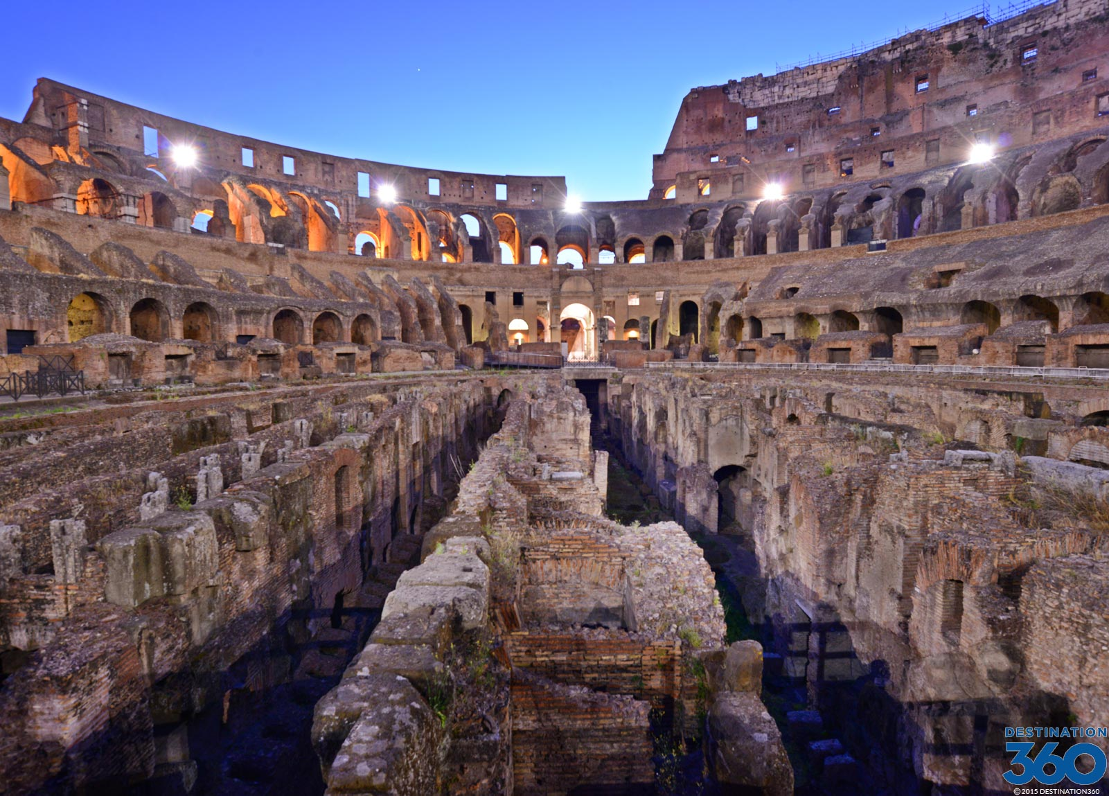 Roman Colosseum Virtual Tour