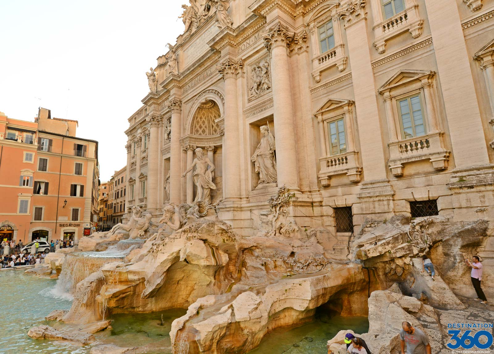 Trevi Fountain History Virtual Tour