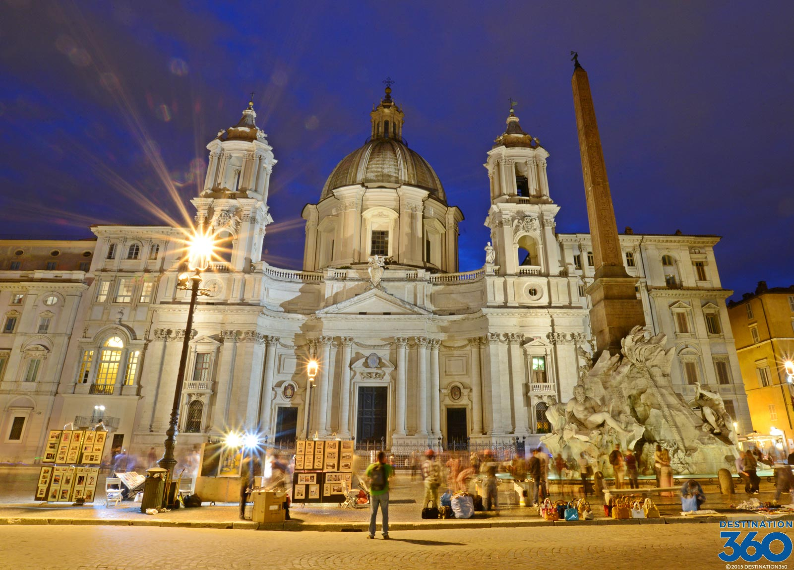 Piazza Navona Virtual Tour