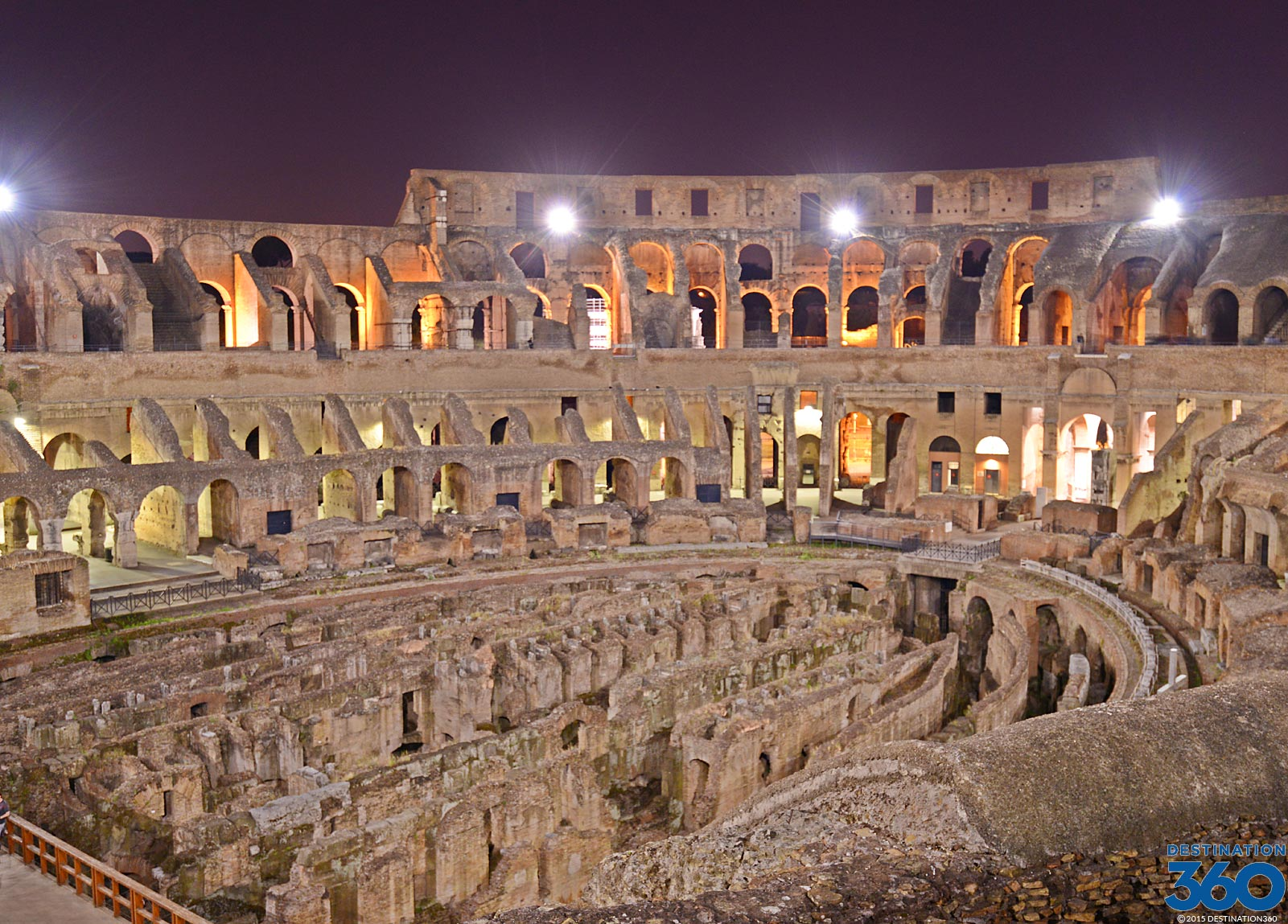 Roman Amphitheatre Virtual Tour