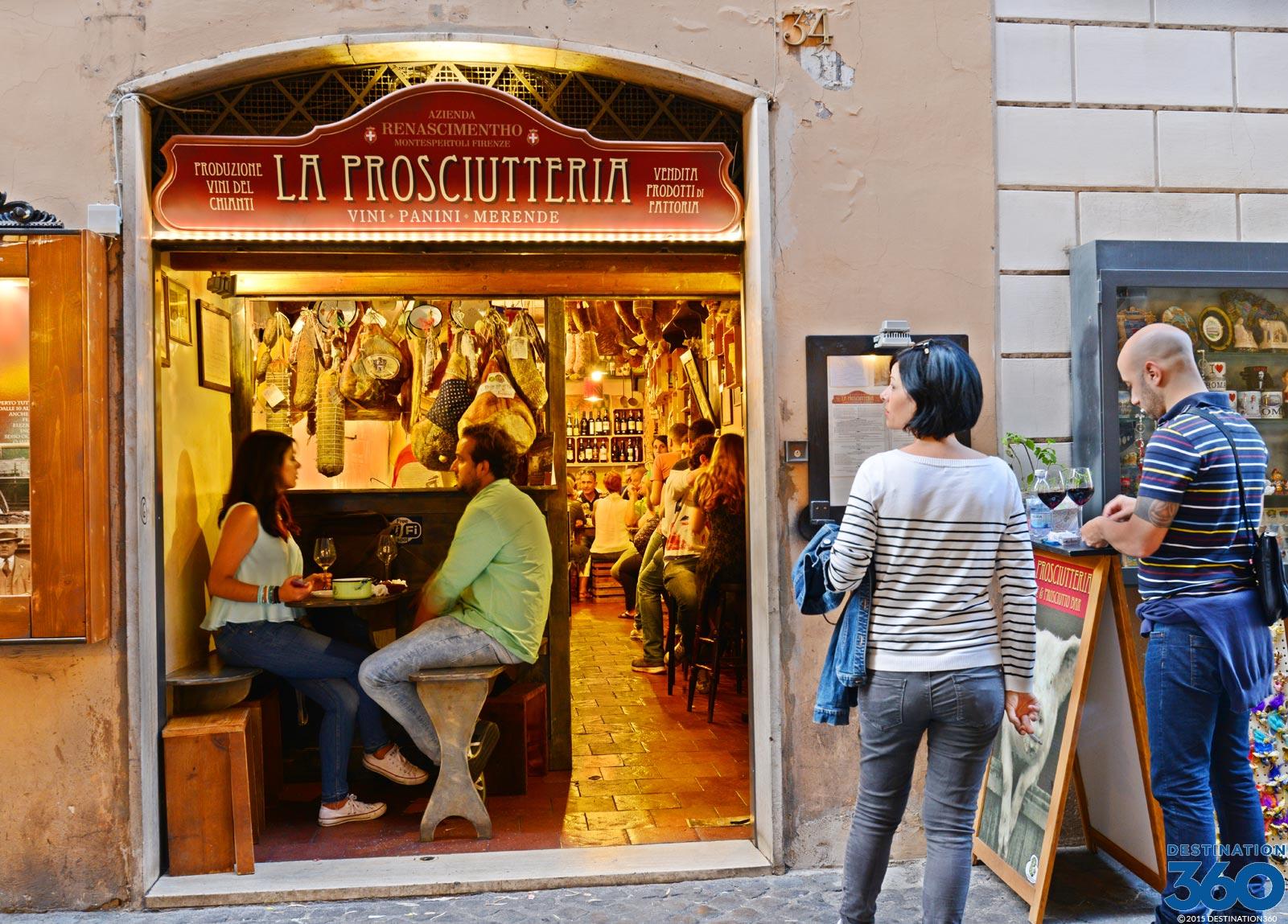 Rome Restaurant Roman Food Roman Culture