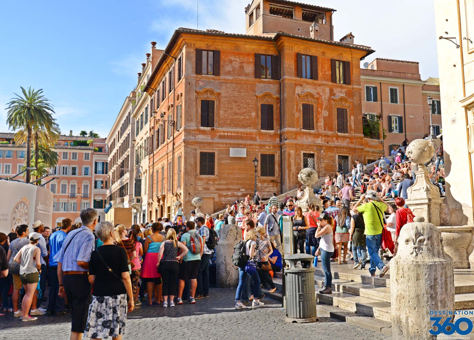 Spanish Steps Virtual Tour