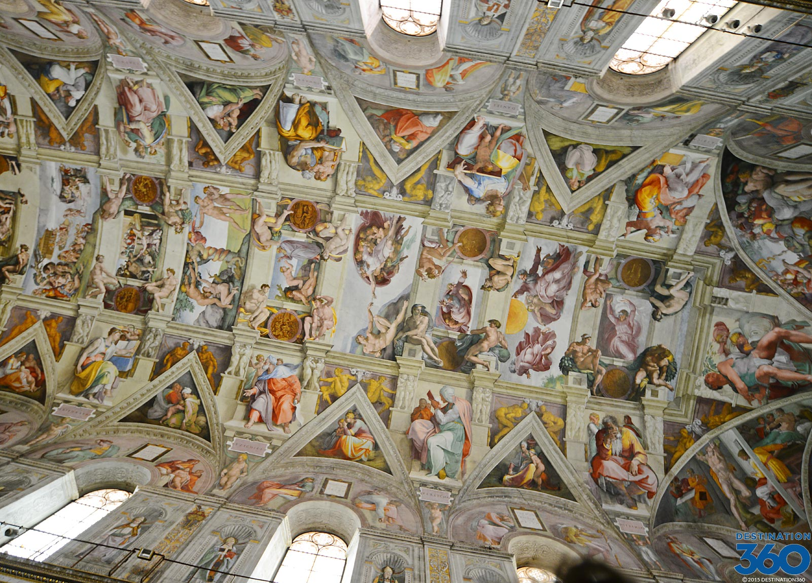 sistine chapel ceiling - michelangelo paintings in the sistine chapel