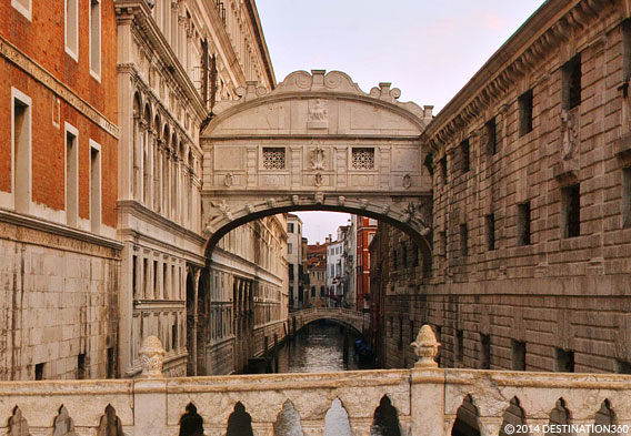 Bridge of Sighs At Sunset