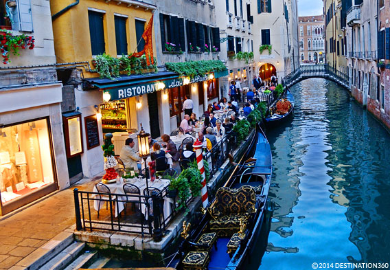 Romantic Restaurants Venice