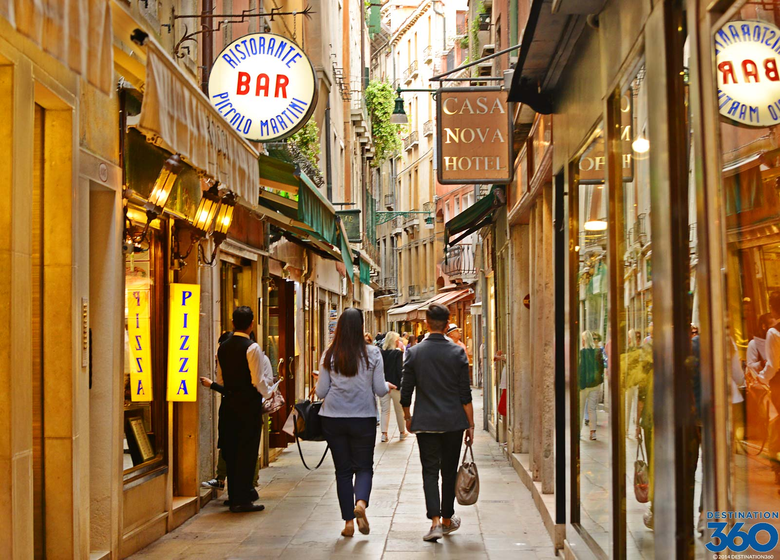 Shopping Areas in Venice Italy