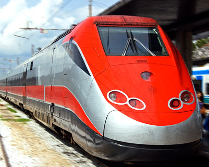how long is train ride from rome to venice