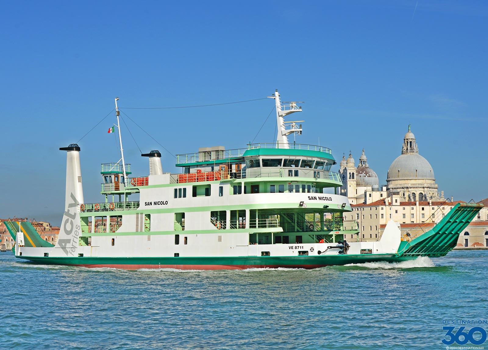 Venice Italy Ferries