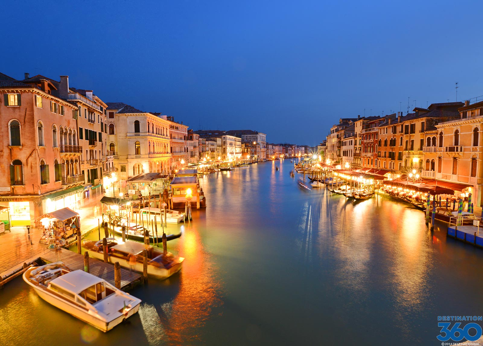 Venice at Night Virtual Tour