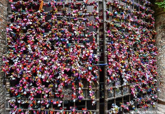 Romeo and Juliet Love Locks