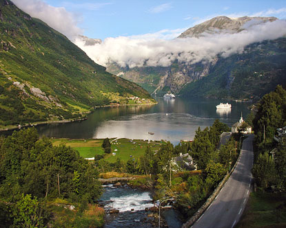 Geirangerfjord Dalsnibba Geirangerfjord Norway