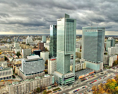 Warsaw � the city with an