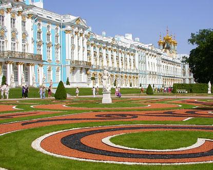 Tsarskoe Selo - Alexander Palace - Pushkin Russia