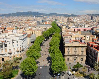 La Rambla - Las Ramblas Barcelona - Las Ramblas Hotels
