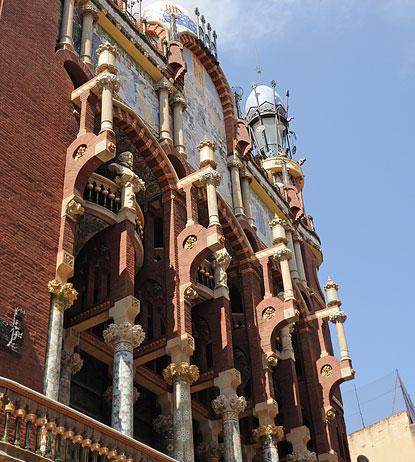 Palau De La Musica Catalana Barcelona Concert Hall