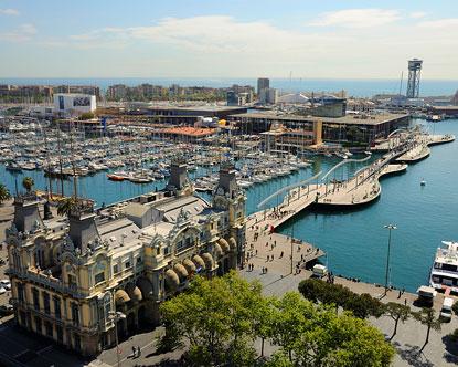 Port Vell - Barcelona Aquarium - Maremagnum Barcelona