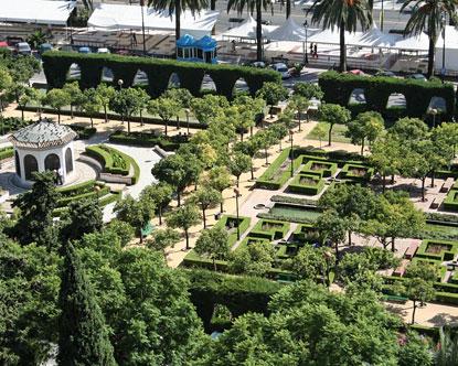 Generalife Garden - Gardens at Generalife Palace Alhambra