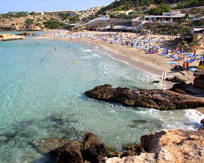 Cala Tarida Ibiza Tarida Beach In Ibiza Cala Tarida Hotels