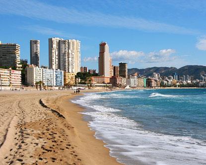 Malagueta Beach Malaga, Spain - Picture of Playa de La Malagueta ...