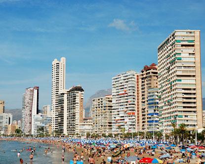 Poniente Beach - Playa de Poniente - Benidorm Beach