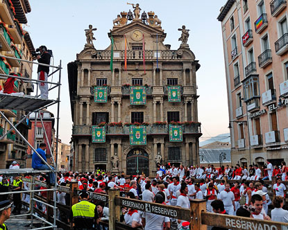 pamplona latin singles World latin top singles  running of the bulls clip video - more than 100 activists marched to the beat of drums towards the plaza consistorial in pamplona,.