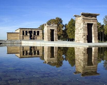 Templo de Debod - Debod Temple - Egyptian Temple in Madrid