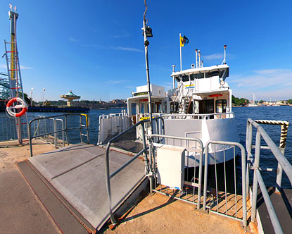 Djurgardsfarjan Ferry Virtual Tour